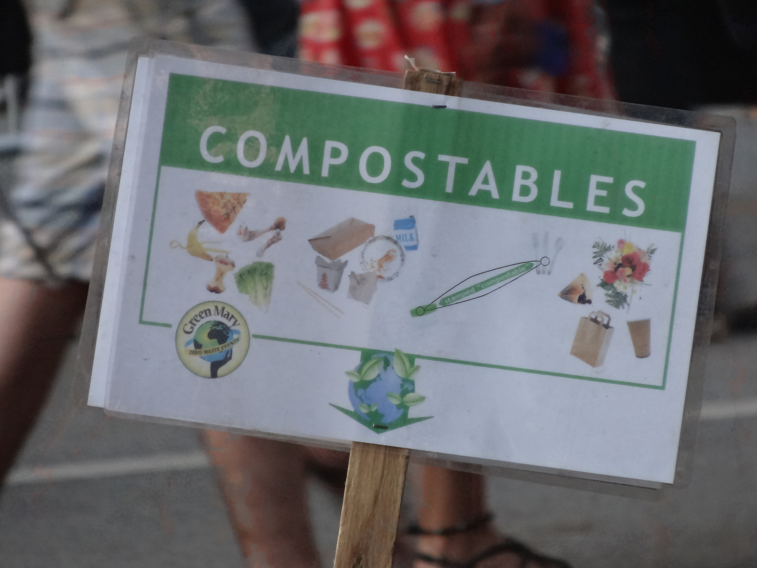 Composting, recycling...whatever it is: make it easy for your audience!