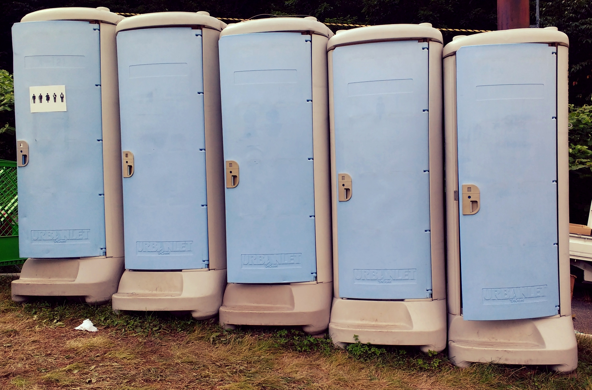 A few of the toilets I managed to find on the campsite