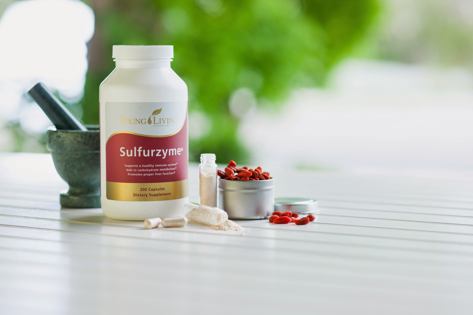 Sulfurzyme supports a healthy immune system, aids in carbohydrate metabolism and promotes proper liver function.