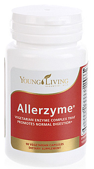 Allerzyme: Vegetarian Enzyme Complex that promotes normal digestion.