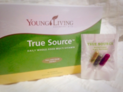 True Source vitamins are derived from the true source!