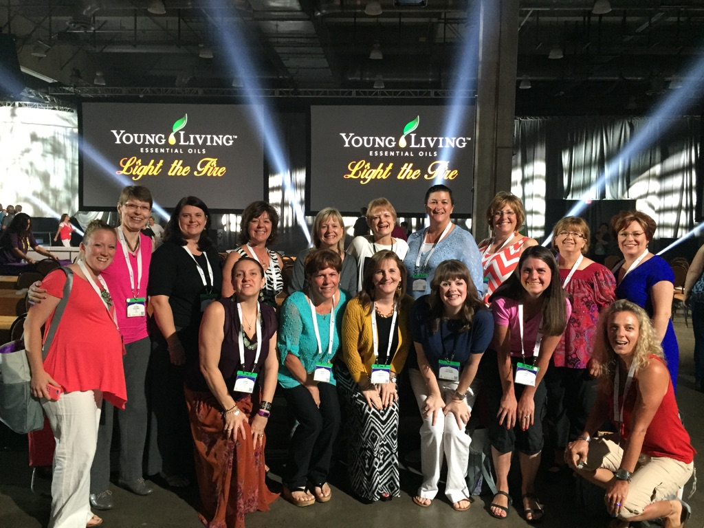"""""""The convention is like being with 10,000 of your friends!"""" -- Dena Jones with many of the Tree of Life team."""