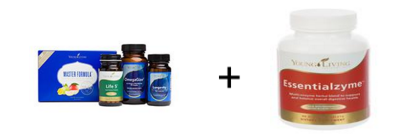 Young Living's  Core Supplement Kit  contains EVERYTHING you need for gut health (Master Formula, Life 5, OmegaGize, and Longevity).  I would also add in Essentialzyme for the breaking down and absorption of vitamins and minerals from your food!