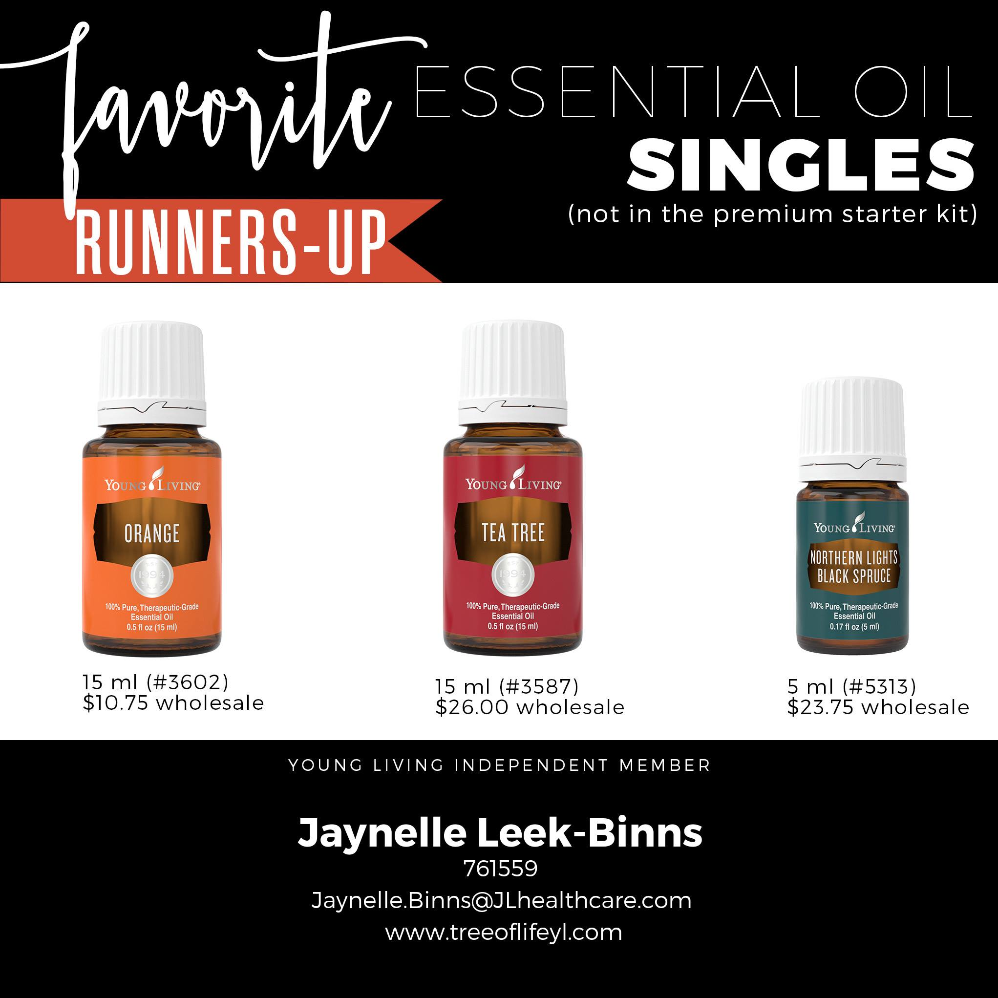 Orange, Tea Tree & Northern Lights Black Spruce give Cedarwood a run for its money!