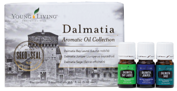 This limited-time collection includes Dalmatia Bay Laurel, Dalmatia Sage, and Dalmatia Juniper.