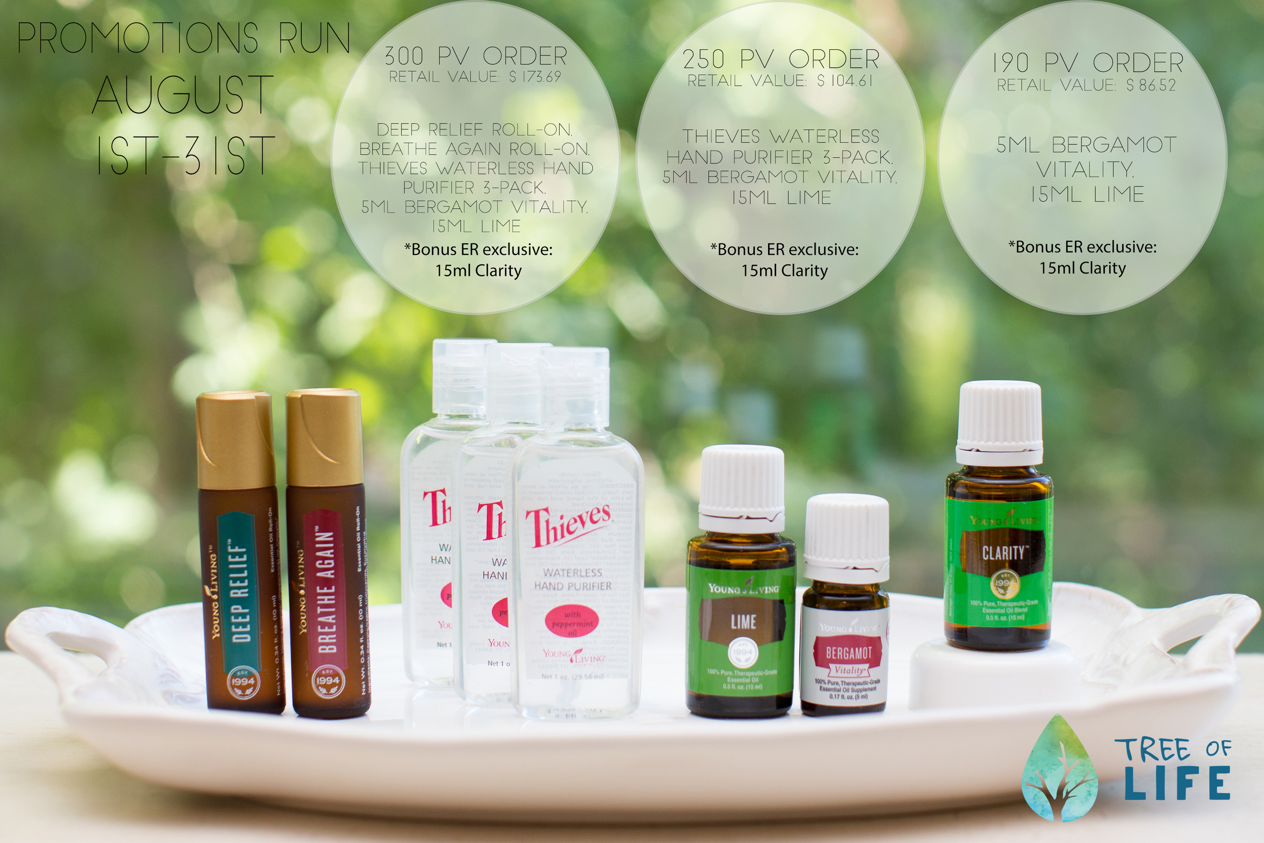 Earn these Young Living back-to-school goodies and fall favorites for free(!) with your qualifying purchase this August.
