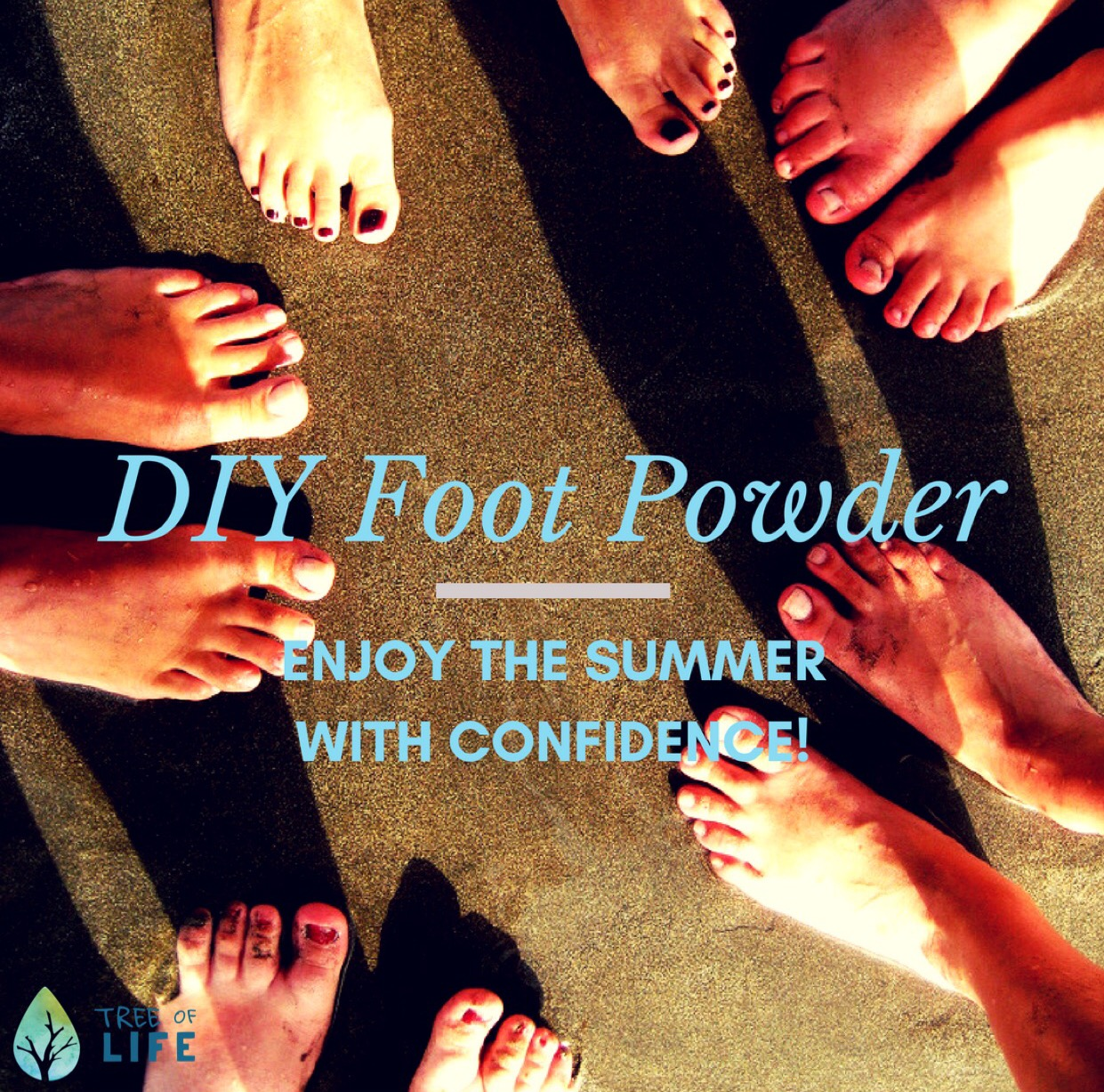 Say goodbye to smelly feet with our DIY Foot Powder.