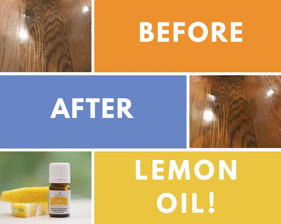 How-To:  Just add 4-5 drops of Lemon Oil and spread over scratches with the help of a bit of olive oil. Stand back and viola!
