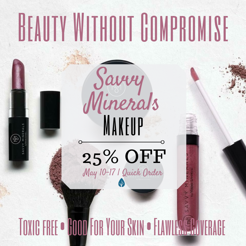 Have you been curious about Savvy Minerals? Now is a great time to get started!