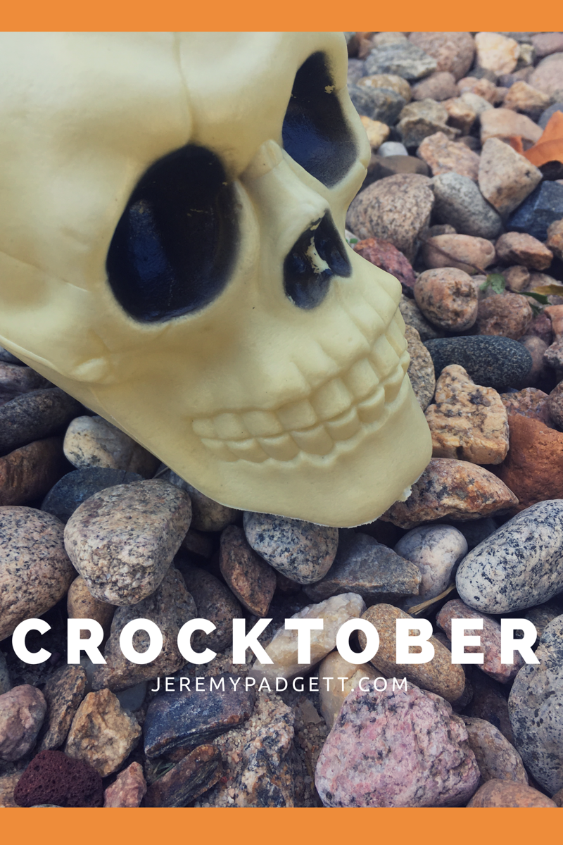 Crocktober Skull