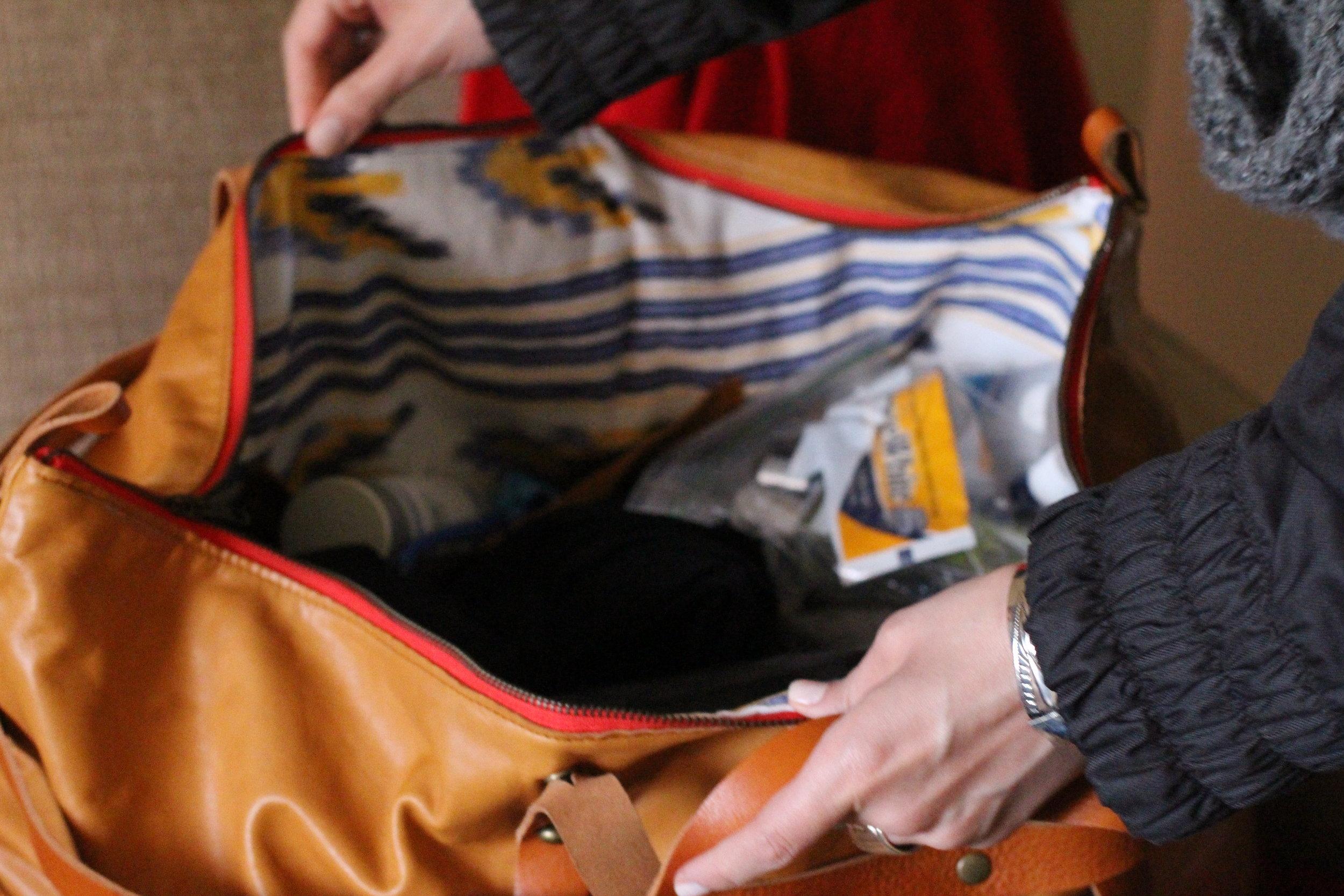 The bag.