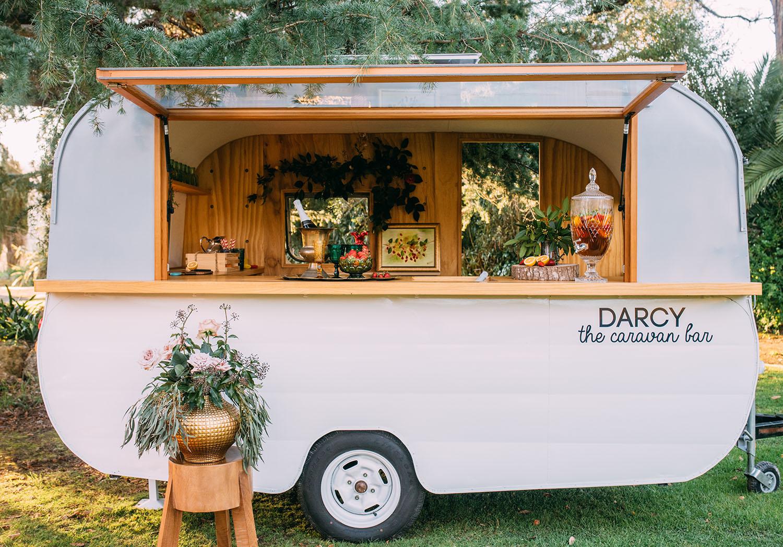 Caravan Darcy shot for magazine in the Tuki Tuki valley in Hawkes Bay