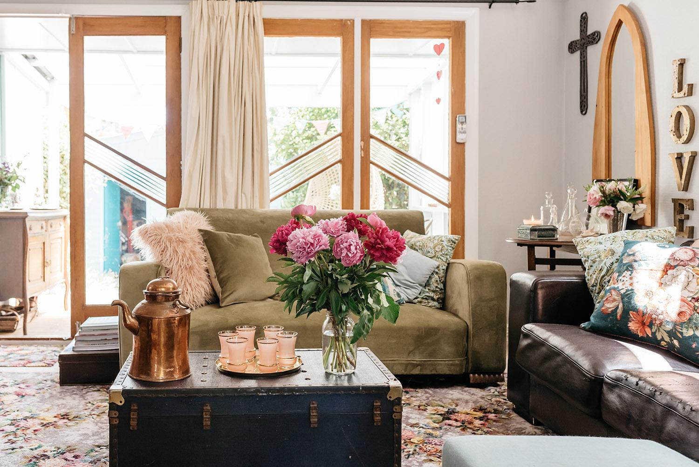 house interior shot for Your Home & Garden magazine, NZ