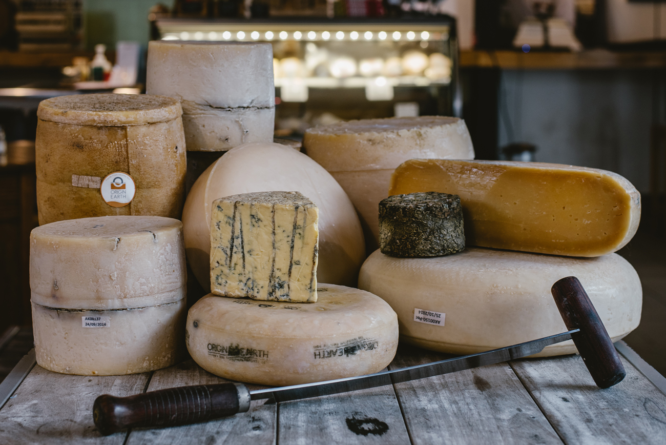 Origin Earth cheeses photographed by professional photographer Florence Charvin in Hawke's Bay, New Zealand