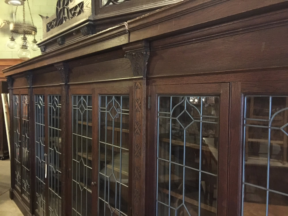 We have already secured some beautiful pieces from Architectural Antiques, just as we did for Meritage prior to its opening 10 years ago.