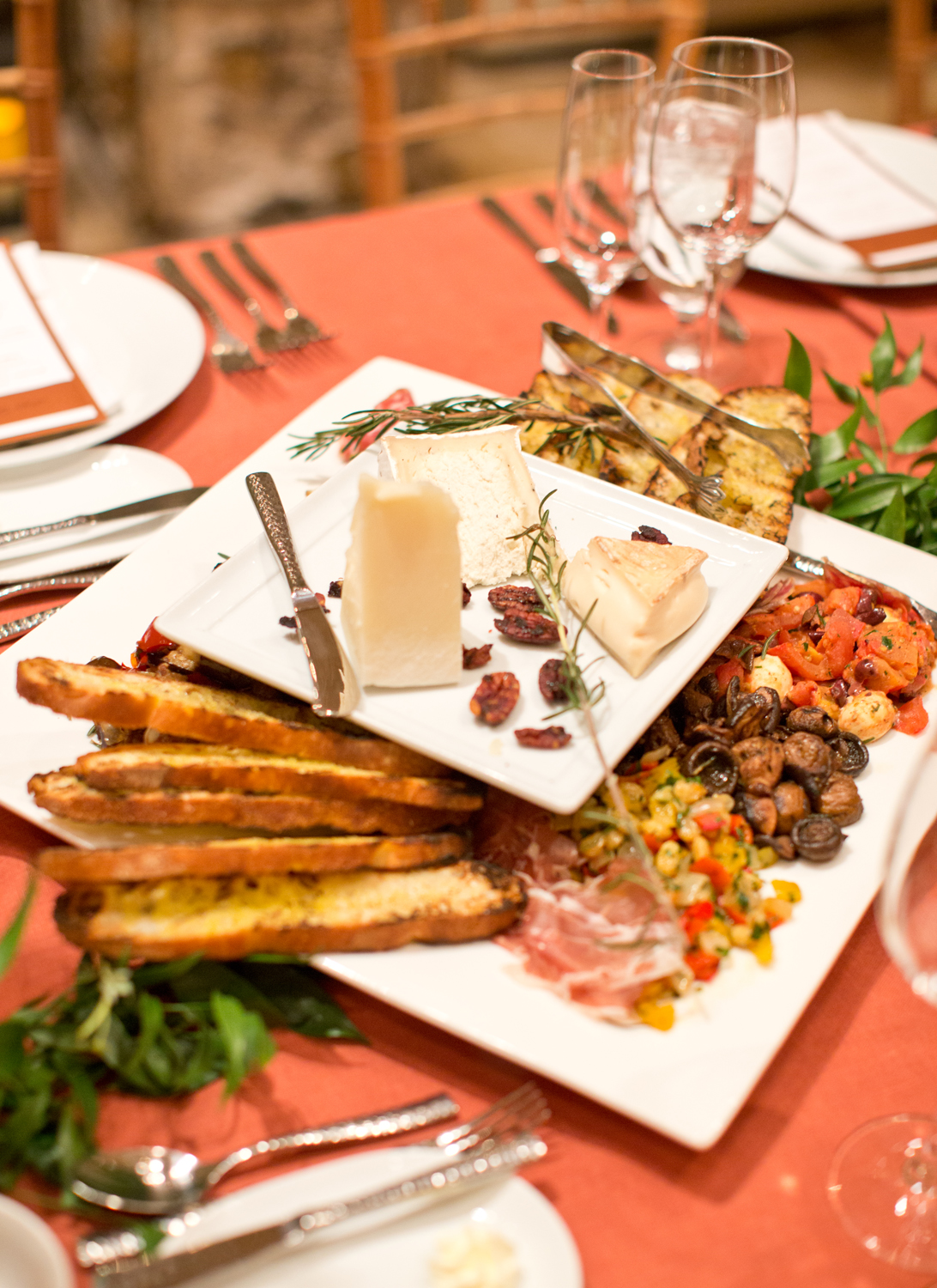 Famil style charcuterie