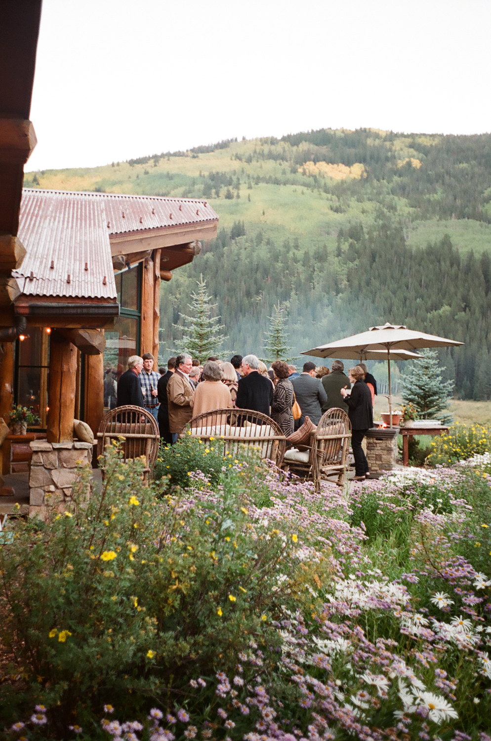 Welcome BBQ at Pine Creek Cookhouse