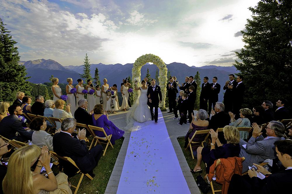 Aspen Mountain Wedding Ceremony