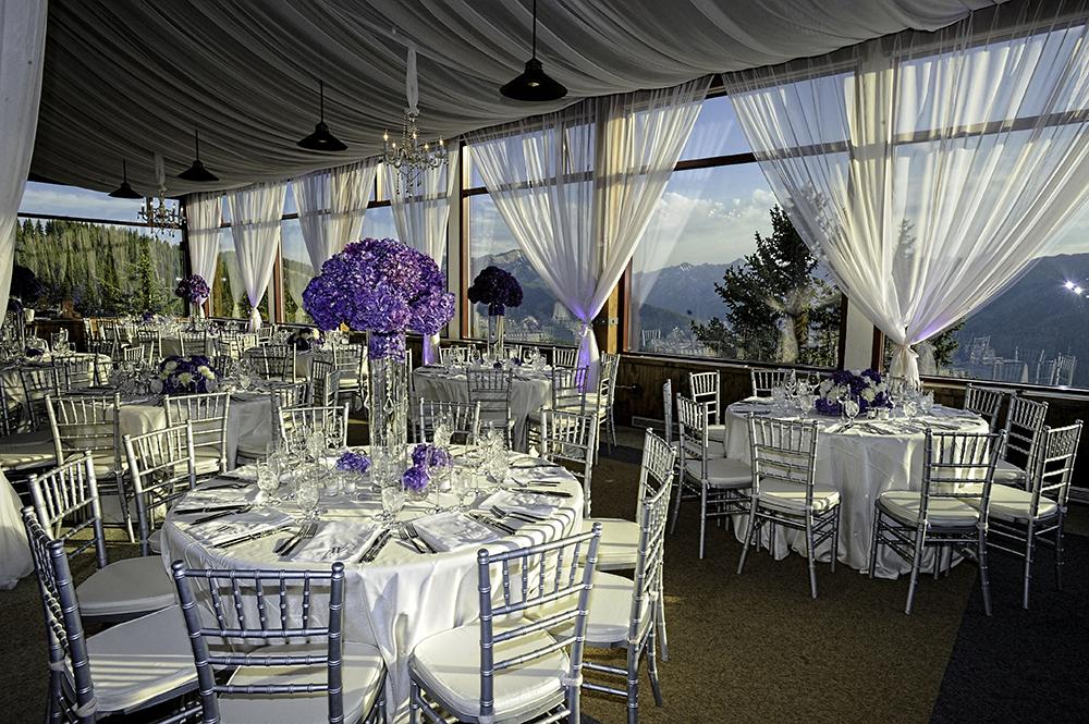 Aspen Sundeck Wedding Reception