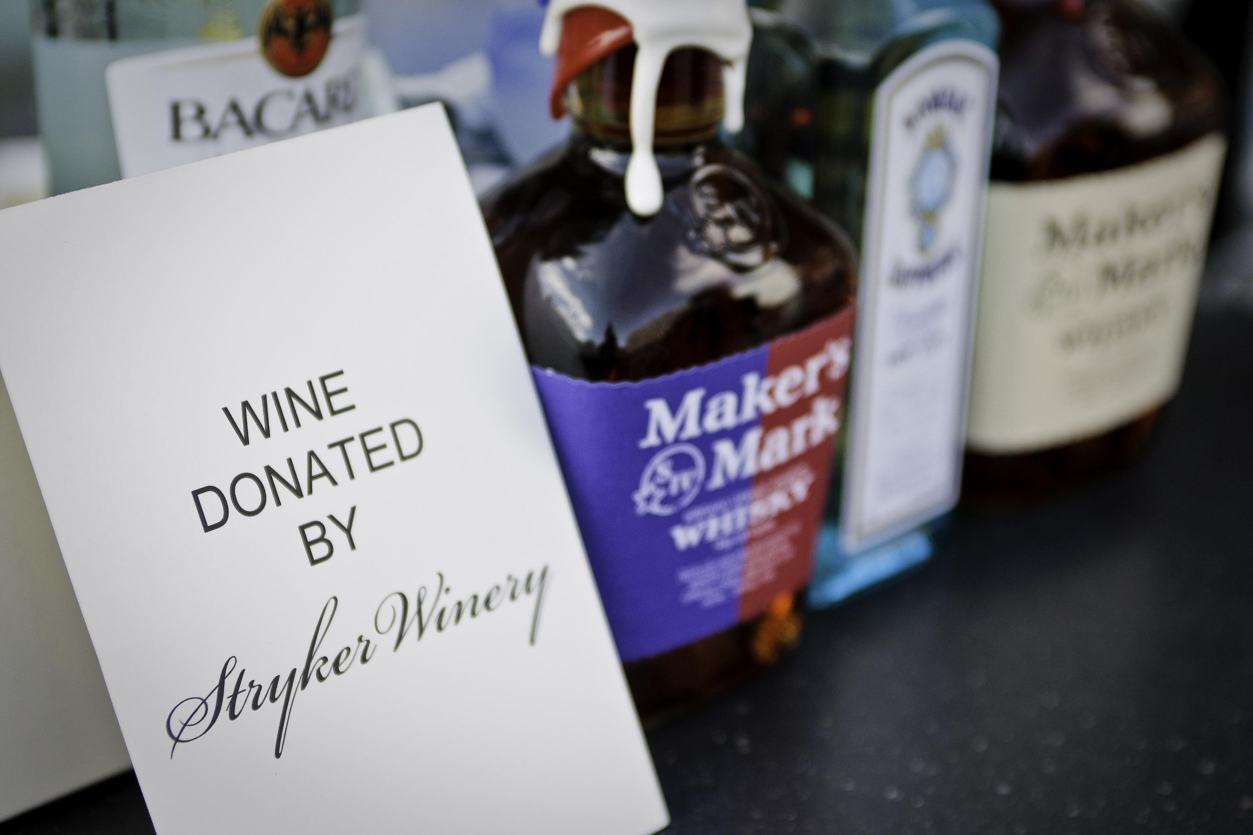 Wine Sponsorship Bar Sign