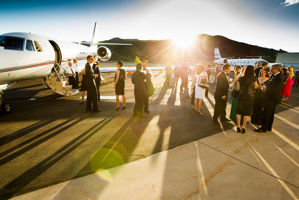 Aspen Private Airport AEF Fundraiser
