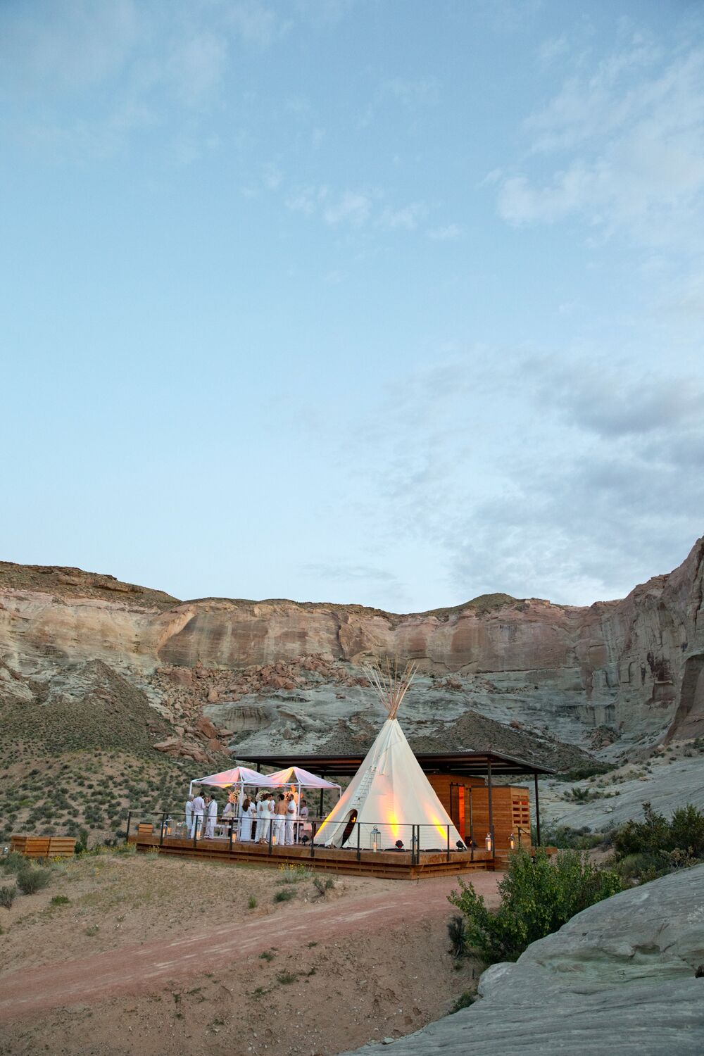 Amangiri resort birthday celebration
