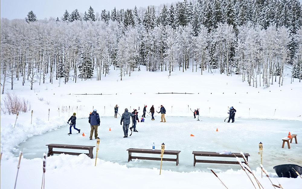 Aspen ice skating