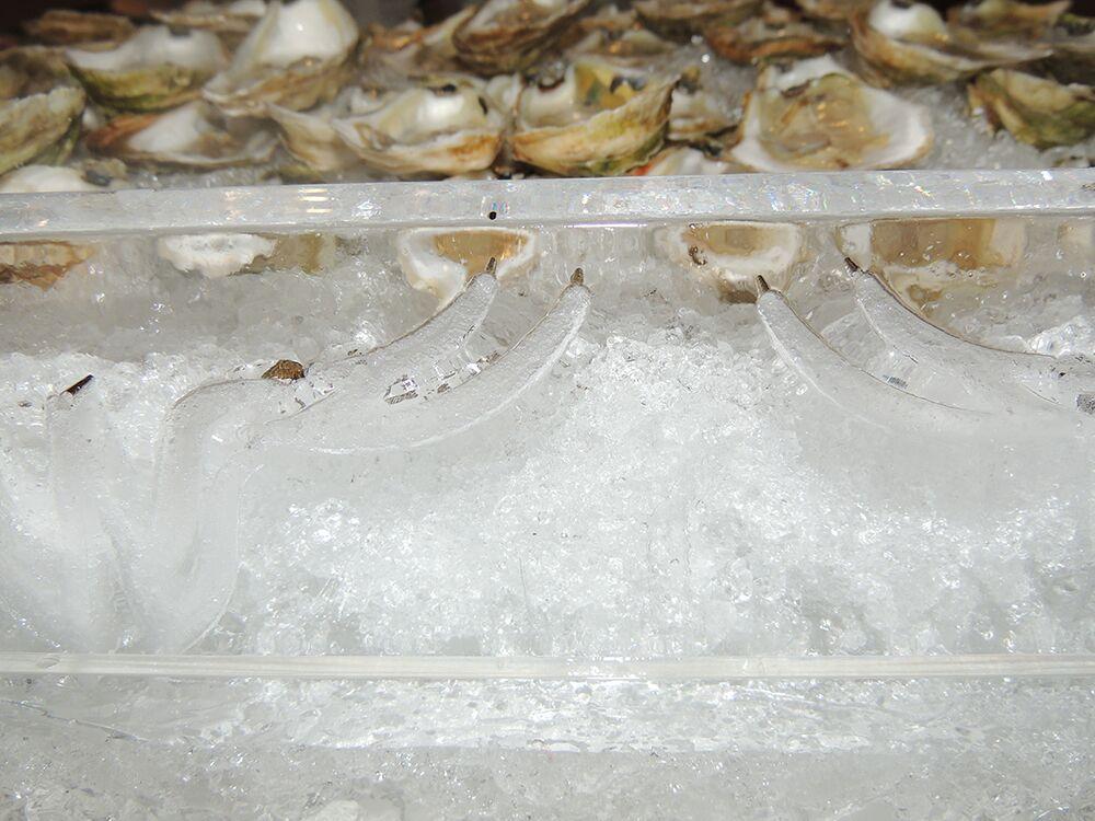 Woody Creek Distillers Oyster Shooter Bar