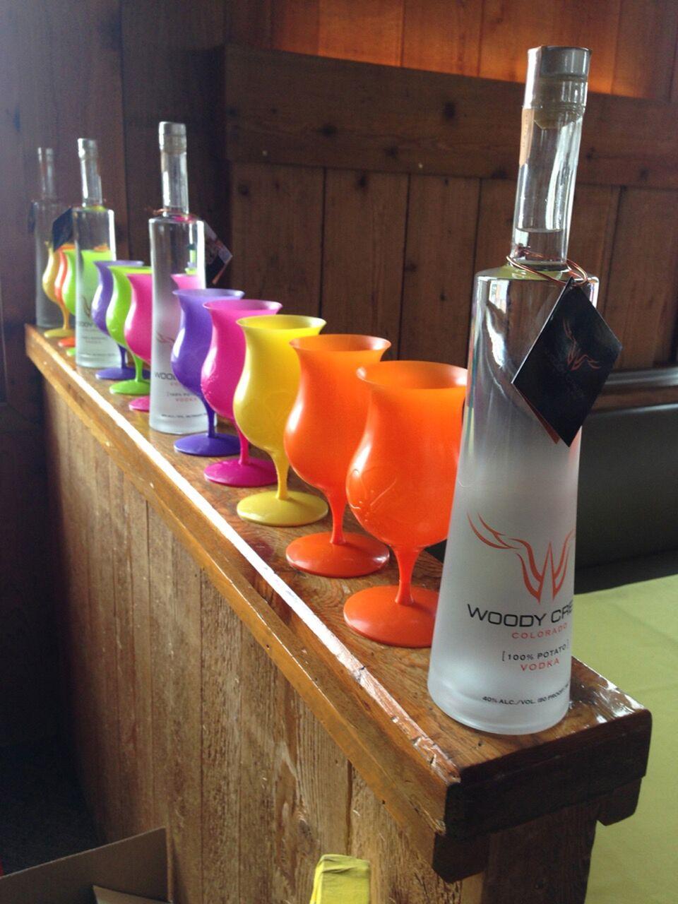 Woody Creek Vodka Display