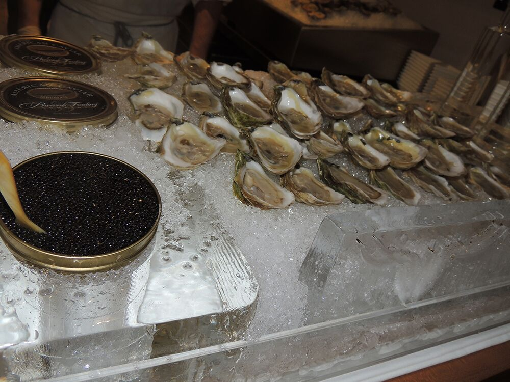 Woody Creek Distillers Oyster Shooter Ice Bar