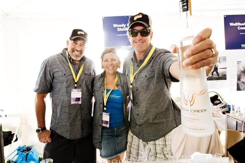 Woody Creek Distillers Food & Wine Team