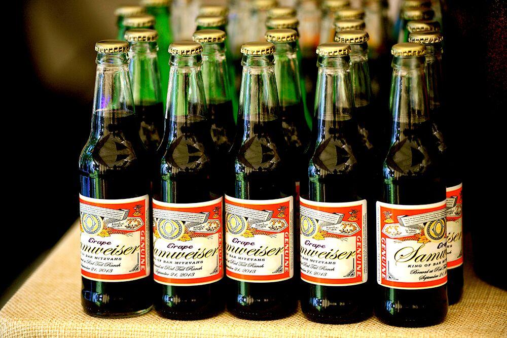 custom soda bottles