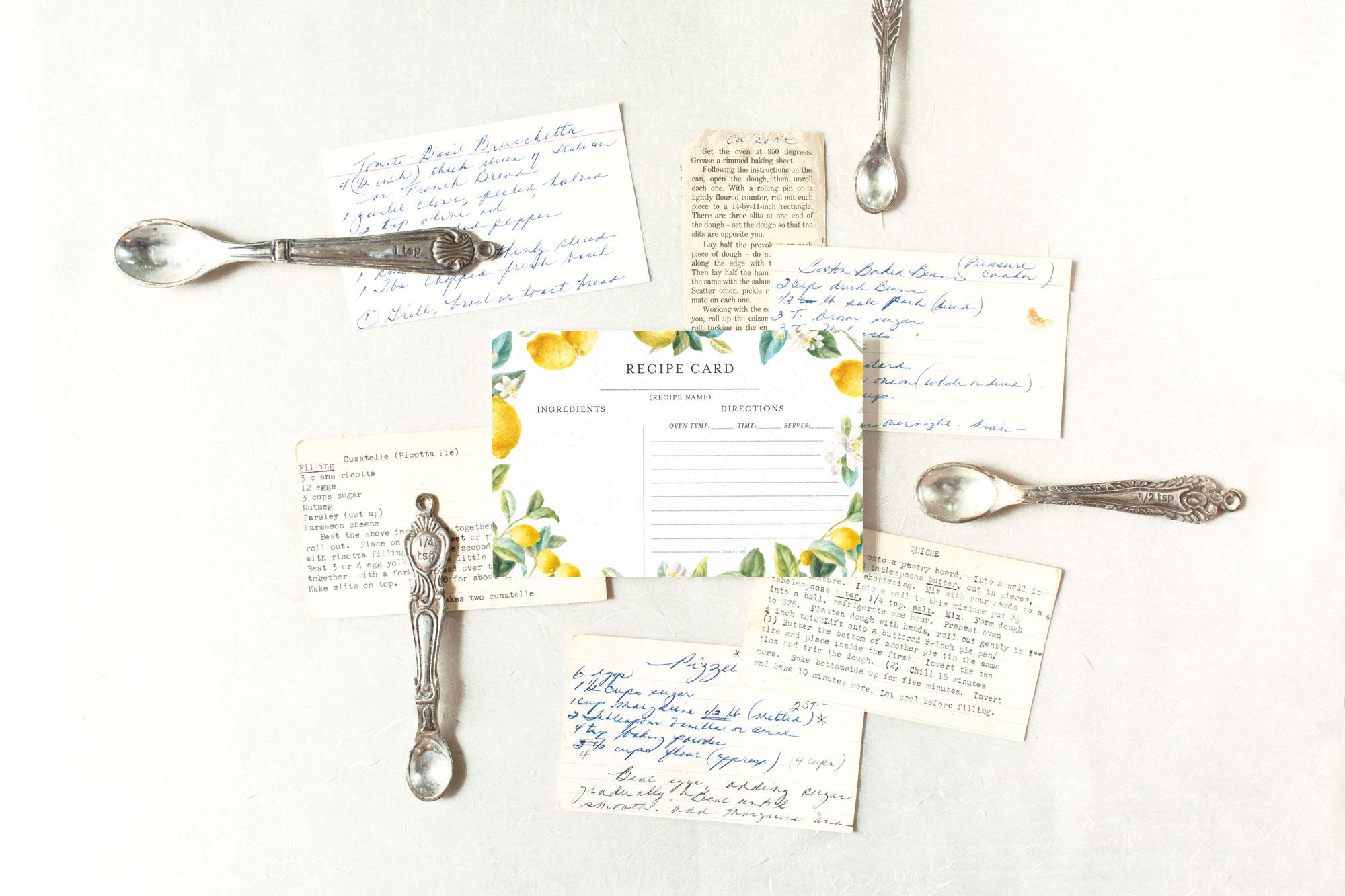Legacy Farmhouse Fresh Recipe Card — Design  Artwork: Danhui Nai | Photography: Shanleigh Heelan