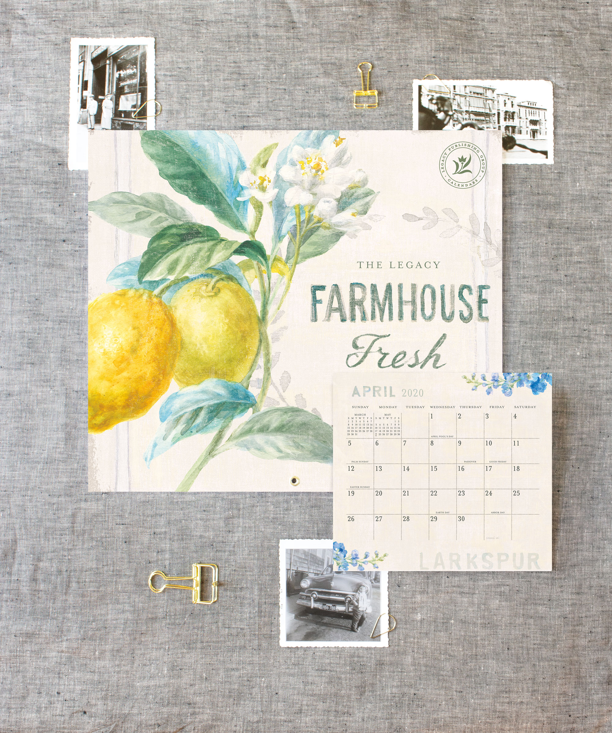 Legacy Farmhouse Fresh Wall Calendar + Magnetic Calendar Pad — Design  Artwork: Danhui Nai | Photography: Shanleigh Heelan
