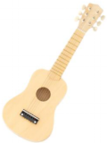 little cottonwood children's wood guitar