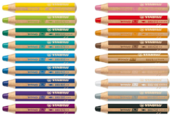 stabilo woody crayon set washable crayons for kids