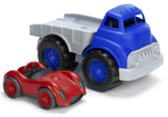 green toys organic and sustainable toy cars trucks for kids