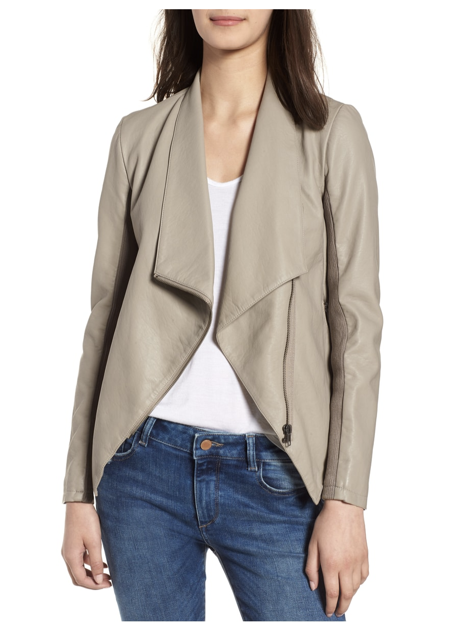 Nordstrom Anniversary faux leather jacket bb dakota.png