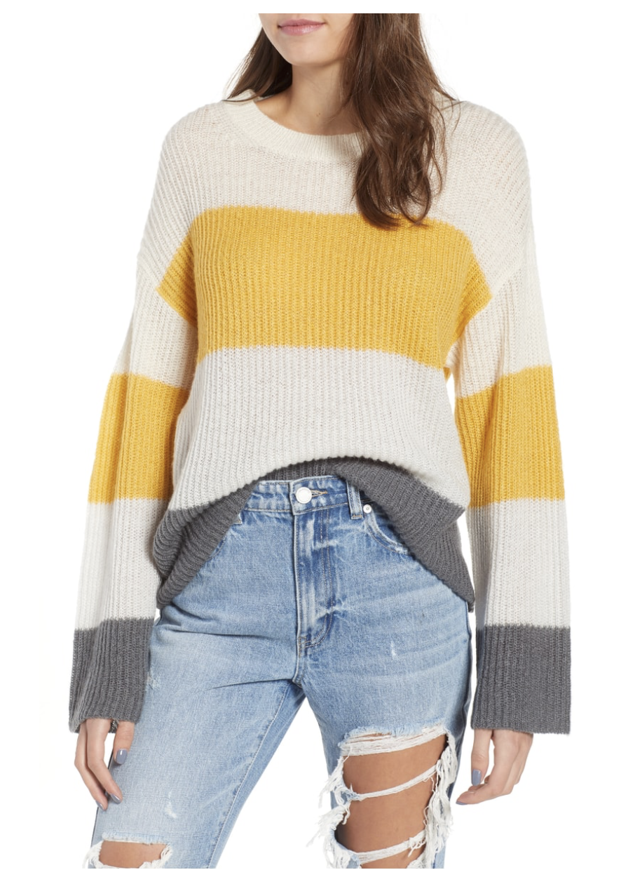 stripe oversize sweater Nordstrom Anniversary.png