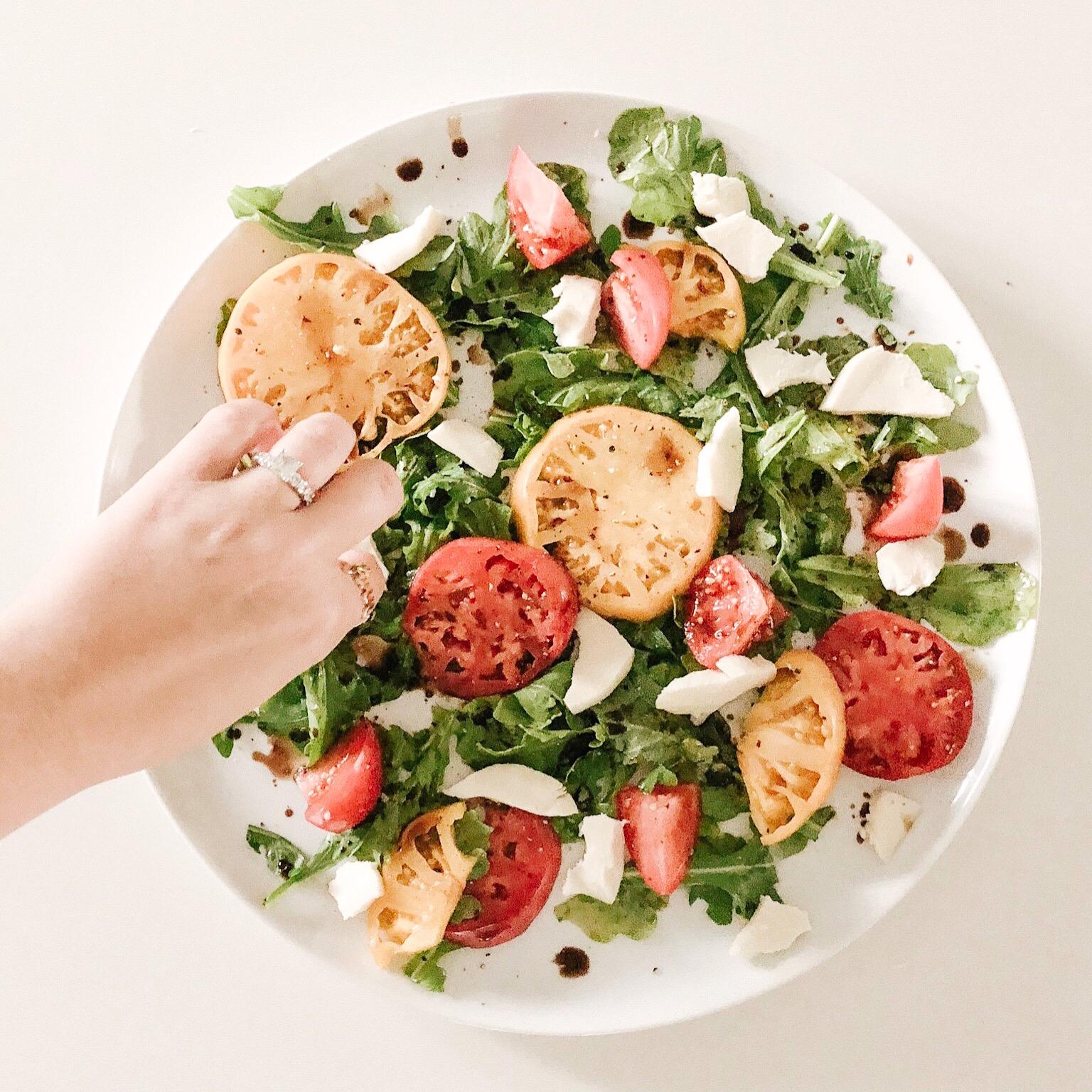 caprese salad foodie goals.JPG