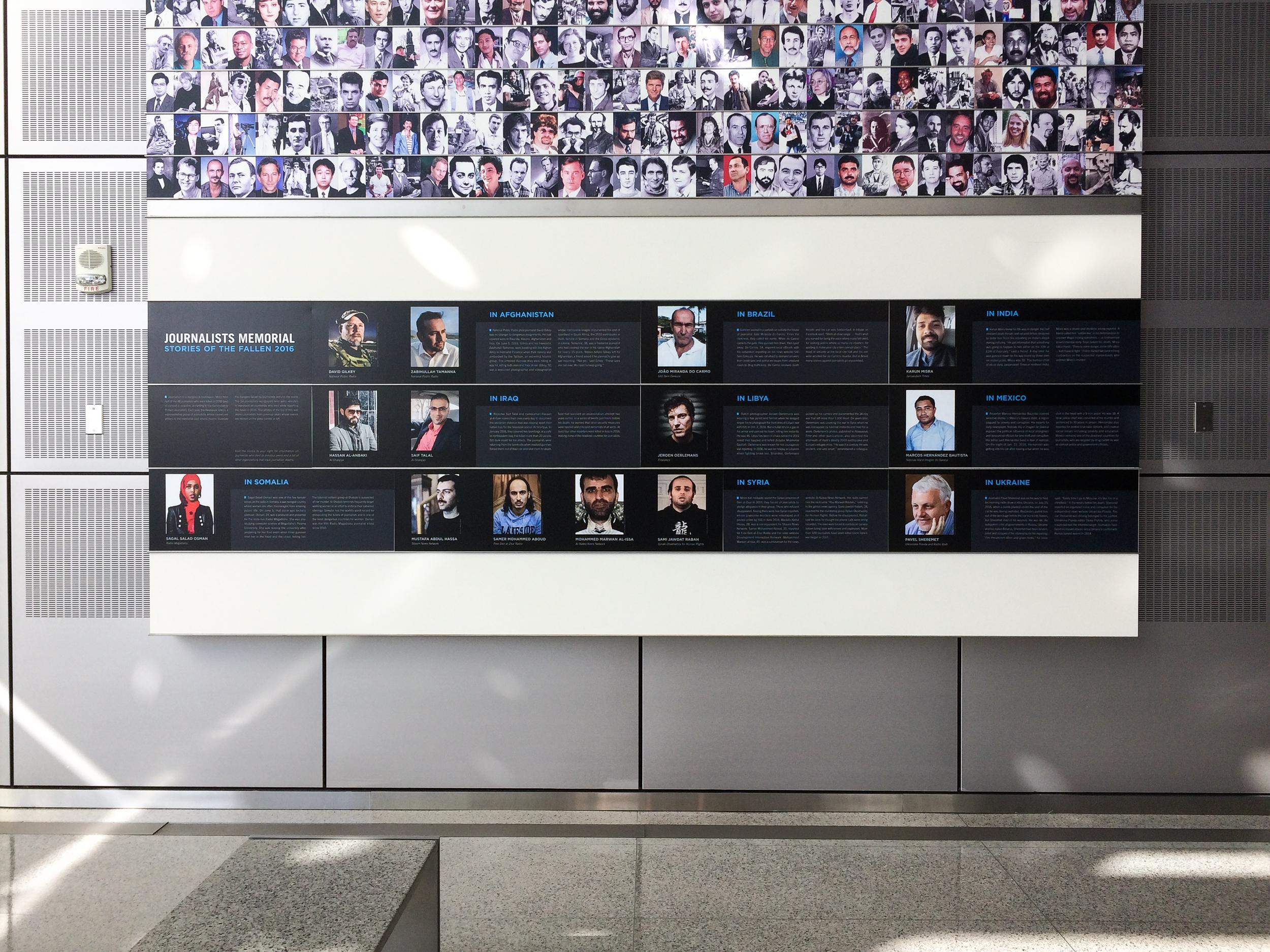 Journalists Memorial 2016