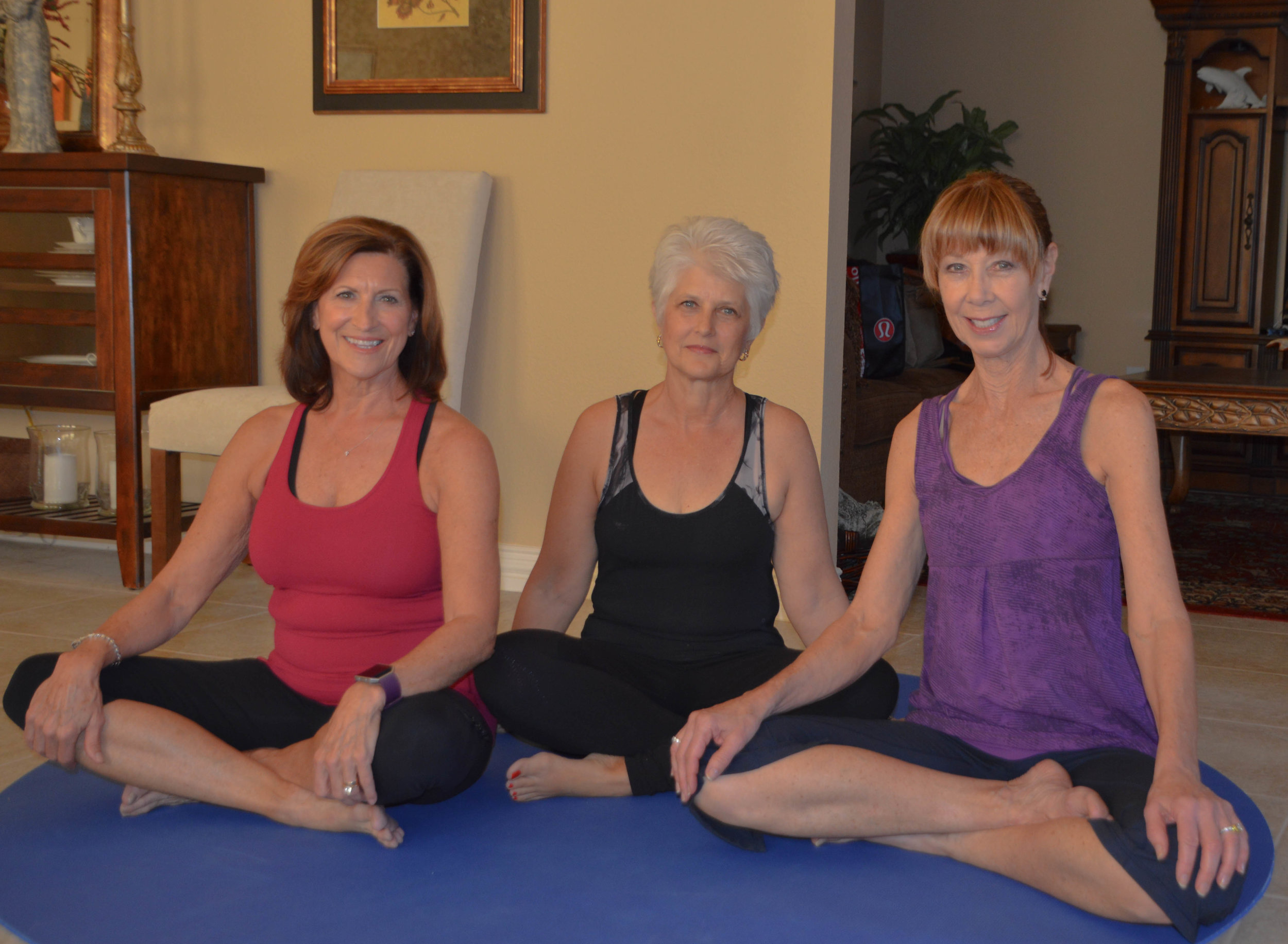 Connie Cline, Brandy Wismer and Janelle Roth