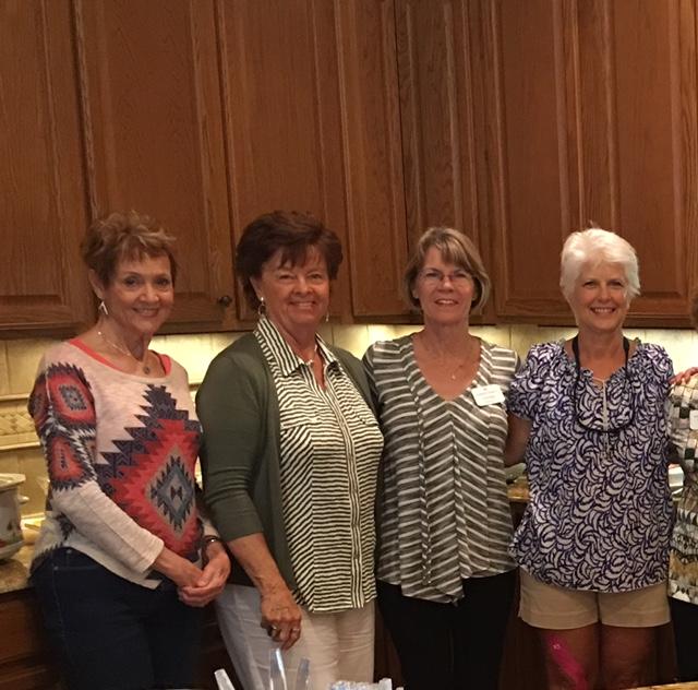 Left to right: Nancy Neal, Carol DeLong, Linda Diehnelt & Brandy Wismer