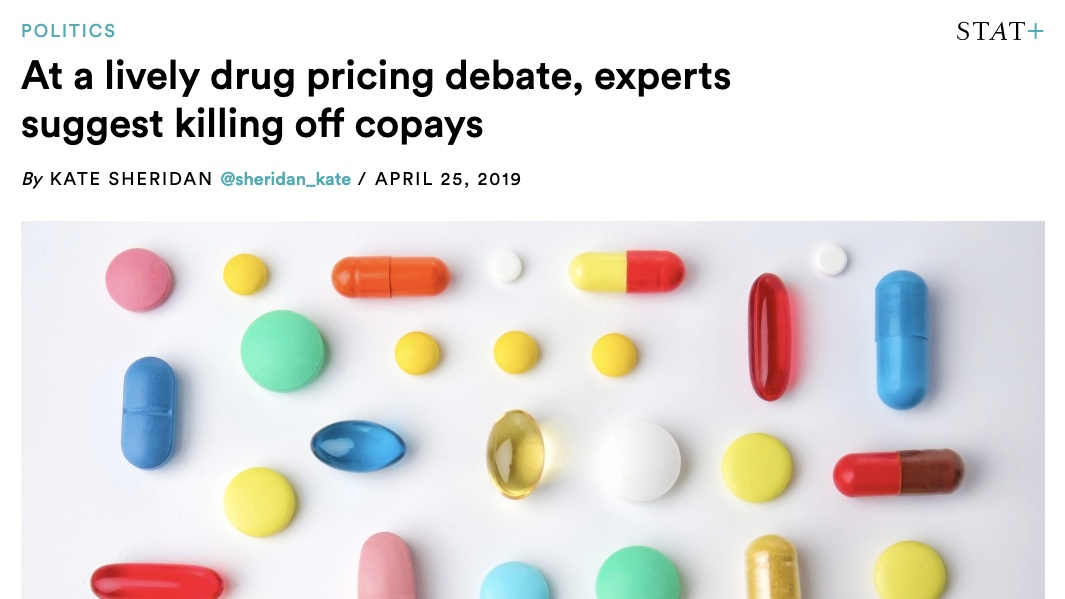 April 23rd 2019: Healthcare & Drug Pricing Debate