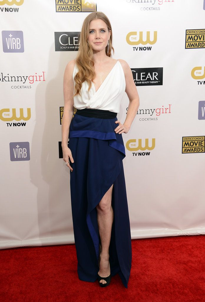 Amy Adams in Vionnet at the Critics Choice Awards