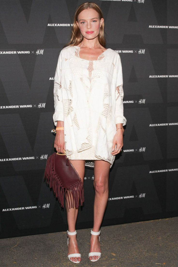 Kate Bosworth carrying Valentino bag & wearing Tabitha Simmons shoes