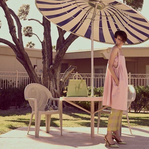 Erika Cavallini campaign image for SS'15