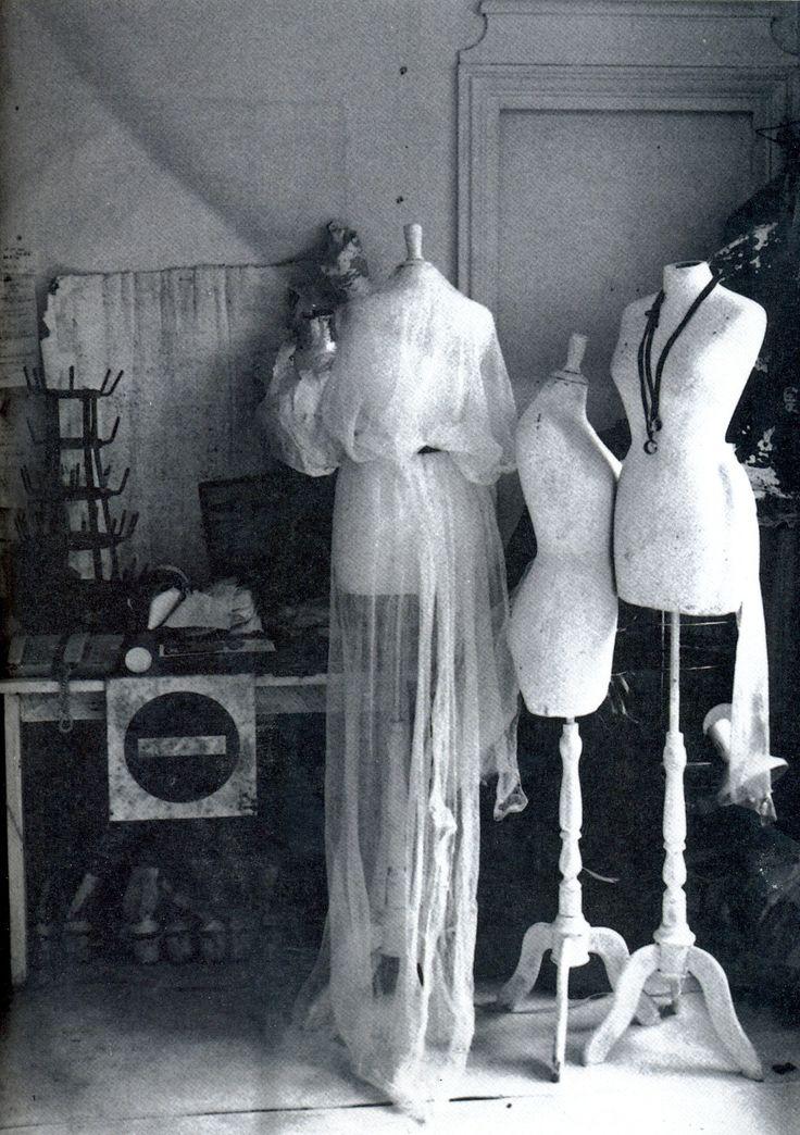 Martin Margiela's studio photographed byRonald Stoops, from High Fashion Magazine 10 October 1998