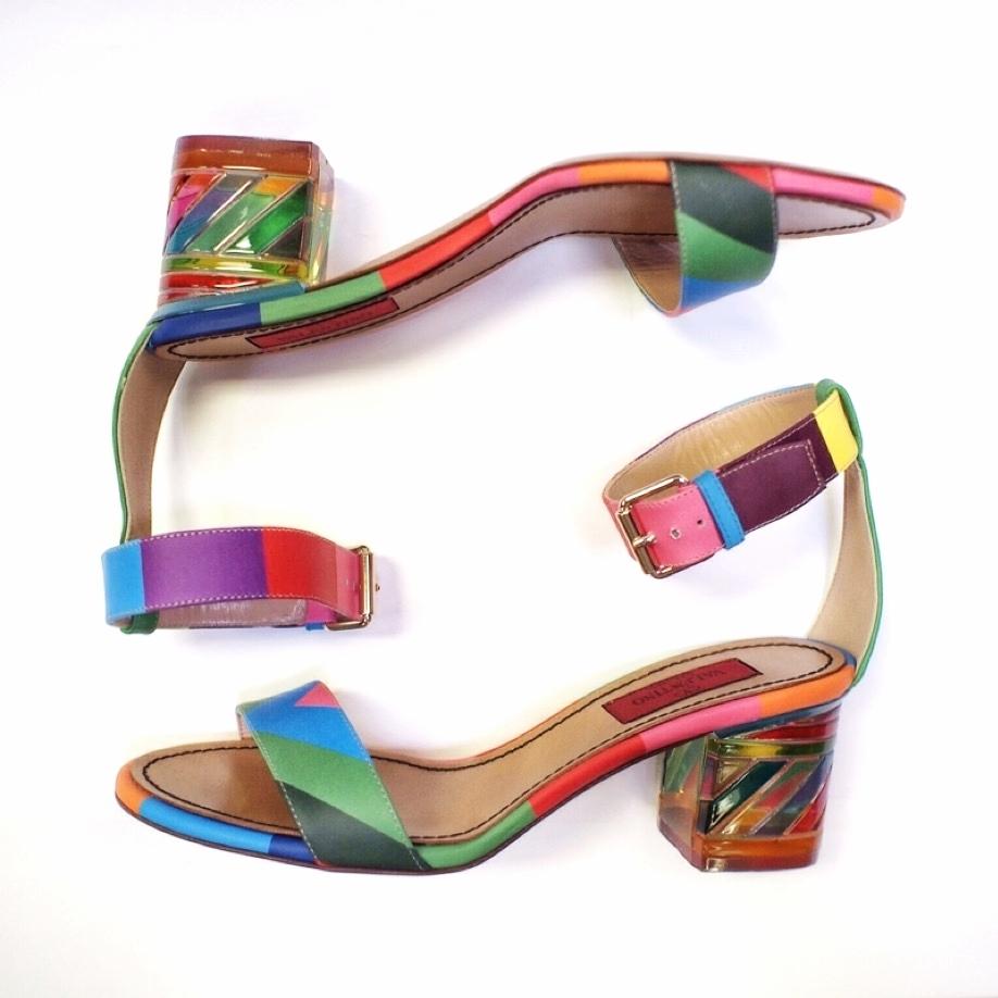 Valentino block-heels SS15