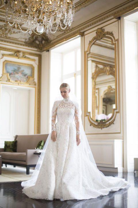 Nicky Hilton in Custom Valentino